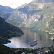 Norway - Geiranger Fjords — Stock Photo
