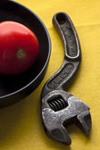 Tomato key — Stock Photo