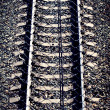 The railroad tracks - Stock Photo