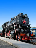 Old locomotive — 图库照片