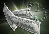 Time & money concept — Stock Photo