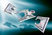 пятьдесят долларов головоломка — Стоковое фото