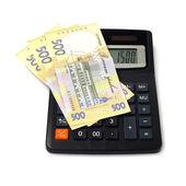 Peníze obchodní finance peněžní zisk pokladu — Stock fotografie