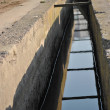 Stock Photo: Canal to irrigate