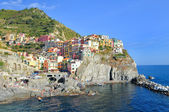 Cinque-terre Manarola ocean view — Stock Photo