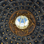 Duomo di Siena ceiling detail — Stock Photo