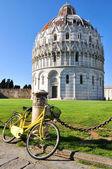 Baptistery of St. John in Pisa, Italy — Stock Photo