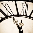 Old antique clock — Stockfoto #7798671