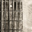 Guitar neck fingerboard on textured background — Zdjęcie stockowe #7799851