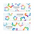 Royalty-Free Stock Vector Image: Ribbon stars vector header