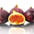 Royalty-Free Stock Photo: Figs on a white