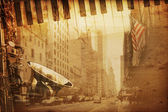Broadway musik — Stockfoto