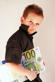 Money Child — Stock Photo