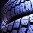 Tread of wheels — Stockfoto #7113150