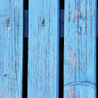 Blue fence — Foto Stock