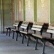 Stock Photo: Benches
