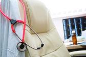 Doctors workingplace — Stock Photo