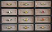 Retro drawers — Stock Photo