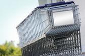 Shopping carts — Stock Photo