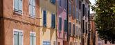 Southern facades — Stock Photo
