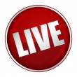 Stock Photo: Live Button