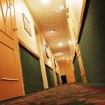 Hotel corridor — Stock Photo #7123298