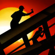 Roof worker — Stock Photo #7126003