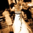 Brides dance — Stock Photo