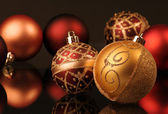 Christmas spheres — Stock Photo