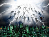 The Rapture — Stockfoto