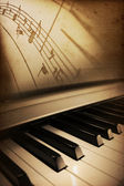 Piano elegance — Stock Photo