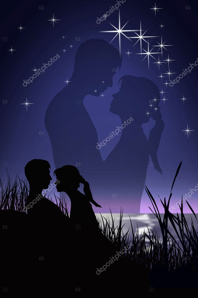 Romantic Couple — Stock Photo #7125975