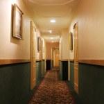 Hotel corridor — Stock Photo #7151888