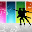 Love dance — Stock Photo