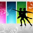 Love dance — Stock Photo #7152035