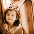 Stock Photo: Little princess