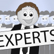 Stock Photo: Experts