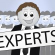 Experts — Stock Photo