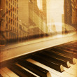 The Piano — Stock Photo