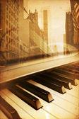 De piano — Stockfoto