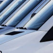 Windshields - Stock Photo