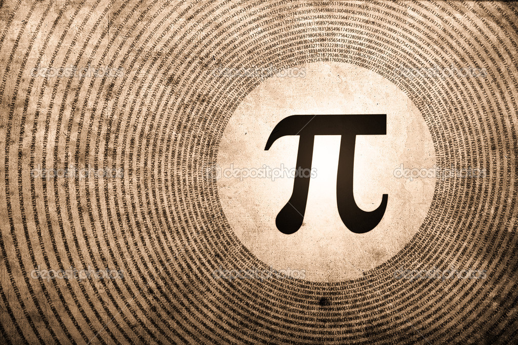 Pi symbol is the largest number in the world — Stock Photo #7642674