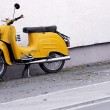 Yellow scooter — Stock Photo #7767892