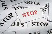 Stop — Stock fotografie