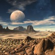 Alien Planet 03 — Stock Photo