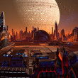 Stock Photo: Future City - Part 2