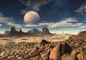Alien Planet 03 — Stock Photo