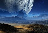 Alien Planet 01 — Stock Photo