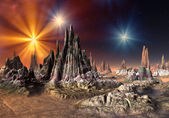 Talos - Alien Planet Part 1 — Stock Photo