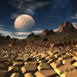 Antara - Alien Planet -04 — Stock Photo